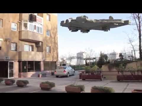 Alien Spaceship matchmover tutorial – Star wars ship Falcon ( maya 2015)