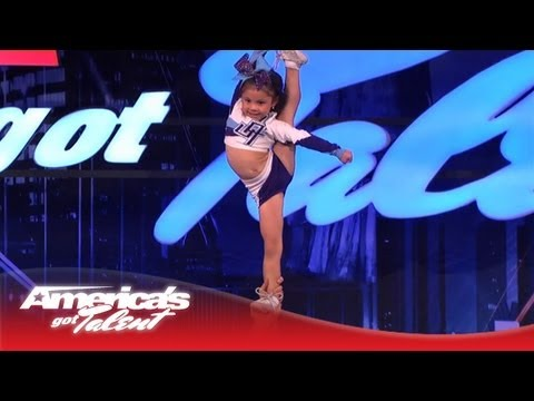 agt - Twenty-something Kyle and 5-year-old Darby wow the judges with their cheer stunt routine! Subscribe Now for More AGT: http://full.sc/IlBBvK Get more America'...