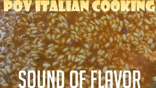 Sound of Flavor - Beef Tomato Risotto by POV Italian Cooking