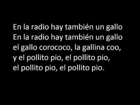 El Pollito Pio En Espaanol