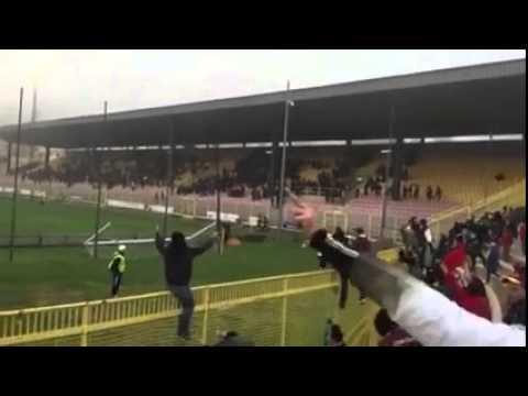 catanzaro - salernitana 1-2 il gol di cristea al 95° minuto dalla curva