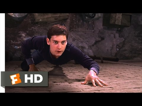 Spider-Man Movie (2002) - Peter's New Powers Scene (2/10) | Movieclips