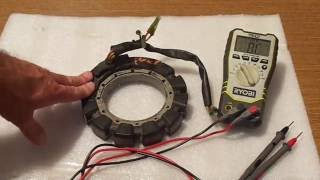 3. How to test stator