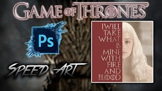 Daenerys Targaryen Speed Art This is my second Speed Art video and I will be making this 800x800 picture of Daenerys...