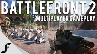 STAR WARS BATTLEFRONT 2 - Multiplayer Gameplay