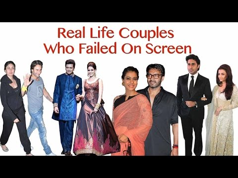 FEATURE | Real Life Couples Who Failed On Screen