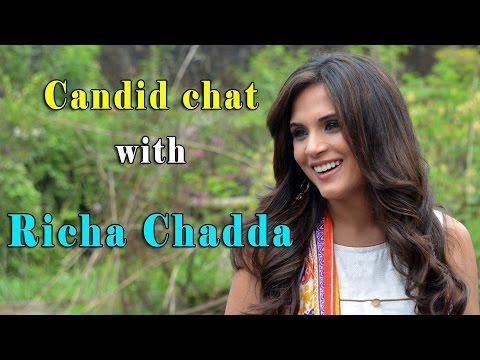 Candid chat with Richa Chadda
