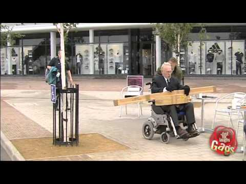 Out Of Control Wheelchair Prank