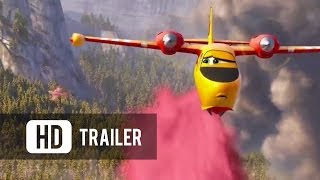 Nonton Planes  Fire   Rescue  2014     Official Trailer  Hd  Film Subtitle Indonesia Streaming Movie Download
