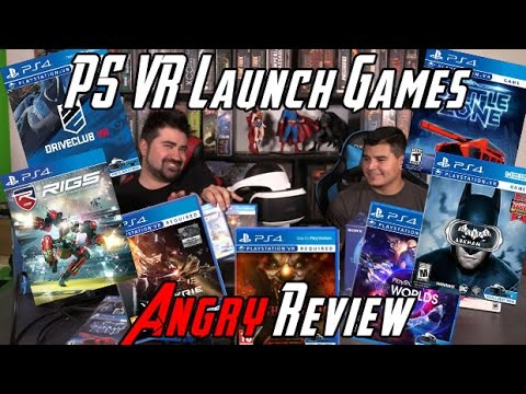 PS VR Launch Games Angry Review (видео)