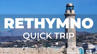 A quick tour of Rethymnon