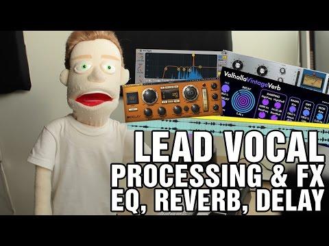 How To Mix Vocals Compression, EQ, Reverb, Delay Ableton Tutorial