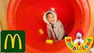 Video VLOG - Aire de Jeux Ronald Land - Fun indoor McDonald's MP3, 3GP, MP4, WEBM, AVI, FLV Juli 2017
