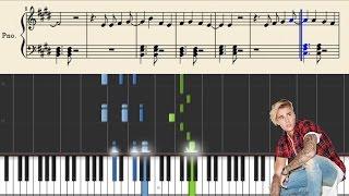 ustin Bieber - Love Yourself - Piano Tutorial + Sheets