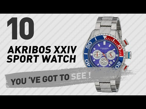 Akribos Xxiv Sport Watch For Men // New & Popular 2017