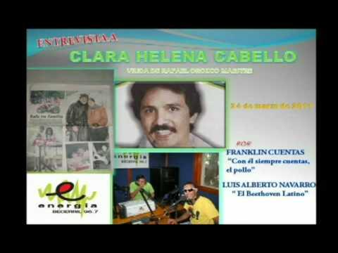 clara helena cabello - Clara Helena Cabello, nos cuenta cómo conoció a Rafael Orozco y qué hacen sus hijas, hoy, despues de 19 años de su partida. De igual forma, brida apoyo para ...