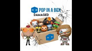 Video Damaged == POP IN A BOX == Mystery Unboxing Review | Funko Pop Vinyl | PIAB UK MP3, 3GP, MP4, WEBM, AVI, FLV Oktober 2018