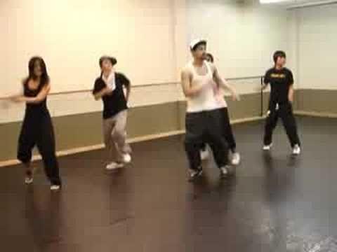 Основные движения house dance