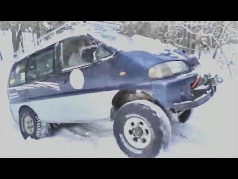 Всей компанией или семьей по бездорожью? Знакомтесь - Mitsubishi Delica L400 (Space Gear).