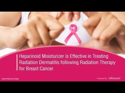 Heparinoid moisturizer is effective in treating radiation dermatitis