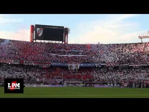 Increíble recibimiento: River, mi buen amigo - River vs. Quilmes - Torneo Final 2014 - Los Borrachos del Tablón - River Plate