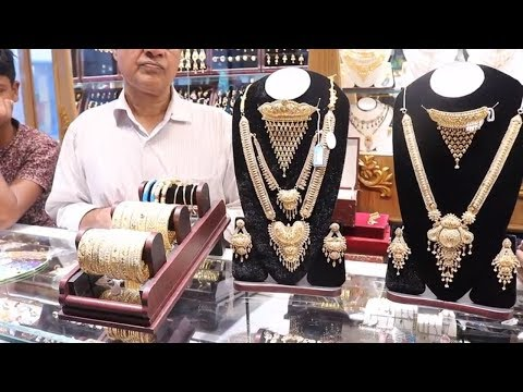 Heavy Gold Bridal Full Set Collection৷৷Gold Jewelry Full Set For Bride৷৷