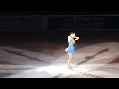 YUNA KIM(QUEEN YUNA)- Ice Show Fancam (2008 Festa On Ice - Only Hope) (видео)