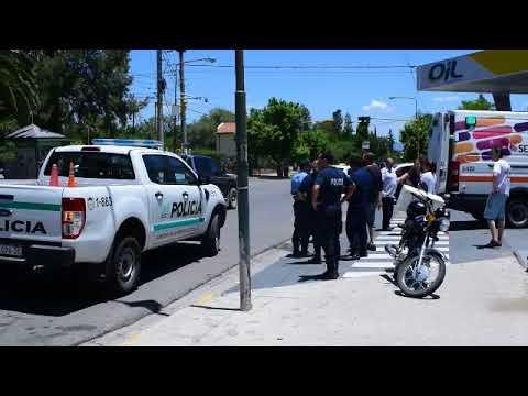 Un chico de 12 años resultó herido luego de ser atropellado por un motociclista