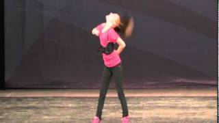 Kassidy Chism Hip Hop Dancer 2009 - YouTube
