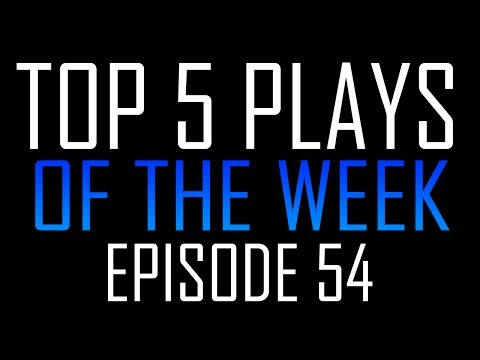 Dutch Top 5 Plays of the Week #54 - BEAST DOUBLE STREAK ! (видео)