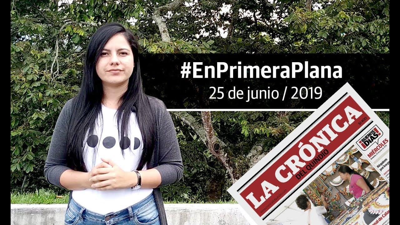 En Primera Plana: lo que será noticia este miércoles 26 de junio