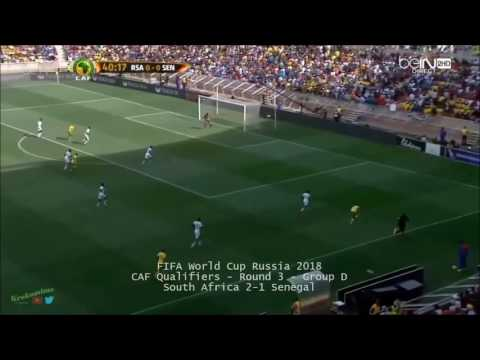 South Africa vs Senegal 2-1 Goals & Highlights CAF 2016 Qualifying