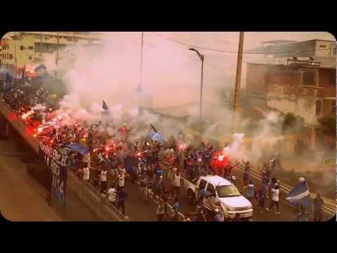 Video - Emelec 3 - Liga de Loja 1 - LLEGADA BOCA DEL POZO Inside la Boca del Pozo 25/07/2012 Copa Credife - Boca del Pozo - Emelec - Ecuador