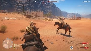 HORSES! - BATTLEFIELD 1 MULTIPLAYER GAMEPLAY & FUNNY MOMENTS