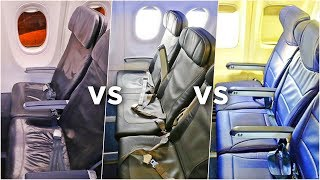 SOUTHWEST vs JETBLUE vs ALASKA AIRLINES Economy Class   Which Airline Is Best?!   Economy Week