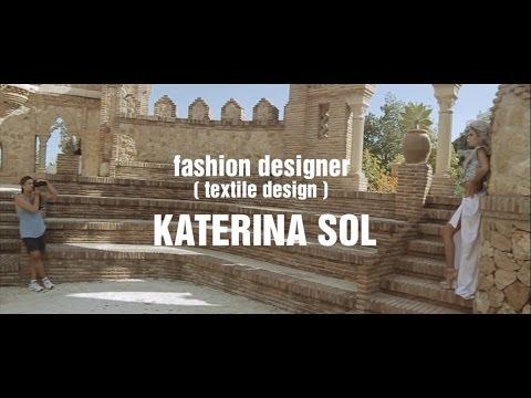 BEHIND THE SCENES | fashion designer KATERINA SOL