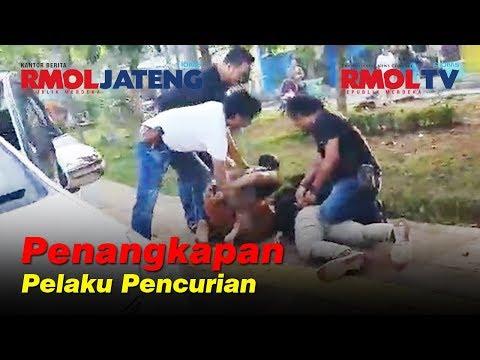 Penangkapan Pelaku Pencurian Proyek Stadion Jatidiri Semarang