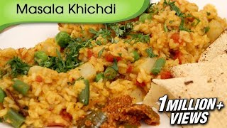 Masala Khichdi - Indian Rice Recipe By Ruchi Bharani - Vegetarian [HD]