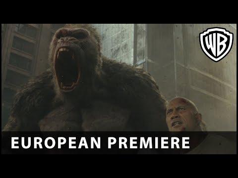 Proyecto Rampage - Premiere Europea con Dwayne Johnson?>