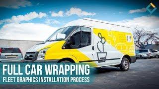 Full car wrapping: Fleet Graphics installation process