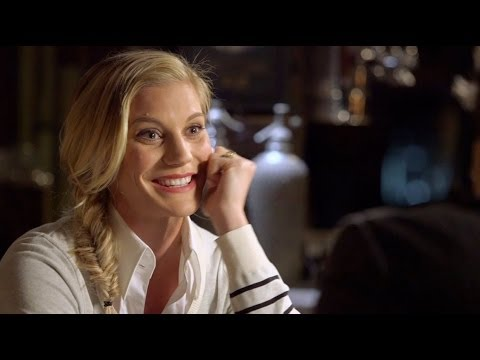Katee Sackhoff - Katee Sackhoff talks about how she got the role of Starbuck, her new show Longmire, and her brother seeing her boob at the Riddick premiere. Watch Katee imit...