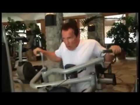 Arnold Schwarzenegger 2013 Training