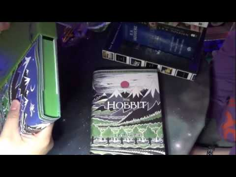 Book Haul 3 Hobbit facsimile House of Leaves Icewind Dale