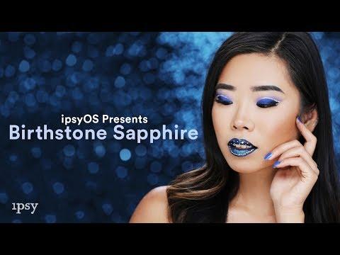 Birthstone: Sapphire feat. @jeamkin | ipsy Open Studios Presents