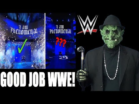 WWE Superstar Entrance's With And Without Pyro Comparison! REACTION!!! (GP17)