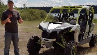 6. TEST RIDE: 2015 Can Am Maverick Max X ds Turbo