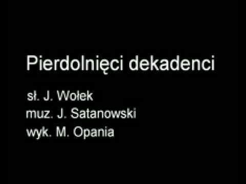 Marian Opania - Pierdolnięci dekadenci (18+) (audio)