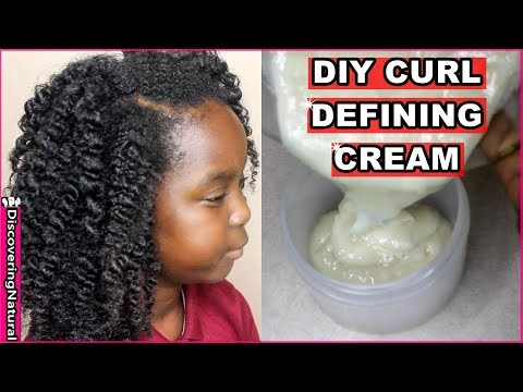 DIY Curl Defining Cream   Discovering Natural