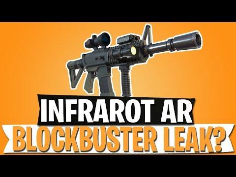 infrarot sturmgewehr kommt blockbuster leak im pve fortnite battle royale deutsch - fortnite sturmgewehr mit zielfernrohr