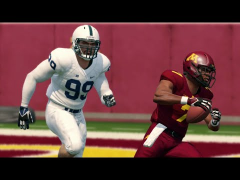 College Football 11/9/2019 - Minnesota vs Penn State – NCAA Football 14 (Updated 2019 Rosters)